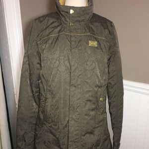 Helly Hansen Green Car Coat